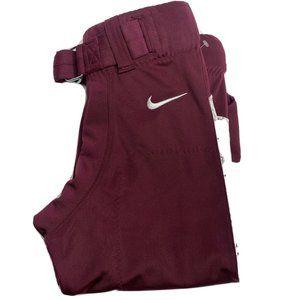 Nike Mens S Burgundy Vapor Football Pant NWT